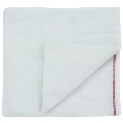 Pure Cotton Red Stripe Old Style Nappies (6 Pack)