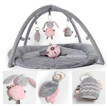 Load image into Gallery viewer, O.B. Designs Woodlands Activity Playmat (Pink + Grey)