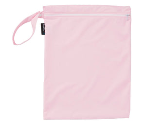 Mum2mum Wetbags Twin Pack - Hearts & Plain Pink
