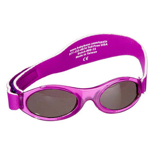 Banz Adventure Kidz Sunglasses - Purple - 2-5 years