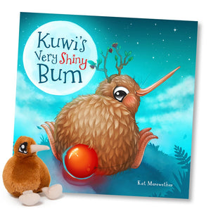 Kuwi The Kiwi - Kuwi's Very Shiny Bum