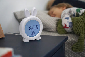 Oricom Sleep Trainer Bunny Clock - Sun for Day and Moon for Night
