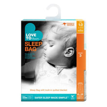 Load image into Gallery viewer, Love to Dream Swaddle Up Sleep Bag 1.0 Tog - White