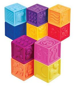 Battat Toys One Two Squeeze Blocks