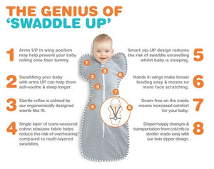 Love to dream Swaddle Grey