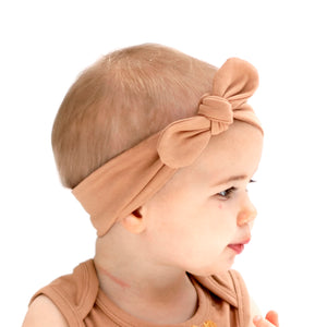 Burrow & Be Essentials Baby Head Band - Tawny Brown