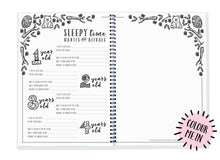 Load image into Gallery viewer, Blueberry Co The Monochrome Toddler Book - The Toddler Book you can colour in!