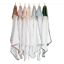 Load image into Gallery viewer, Burrow & Be 100% Organic Cotton Hooded Towel