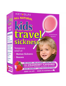 All Natural Kids Travel Sickness Pops 10 pack