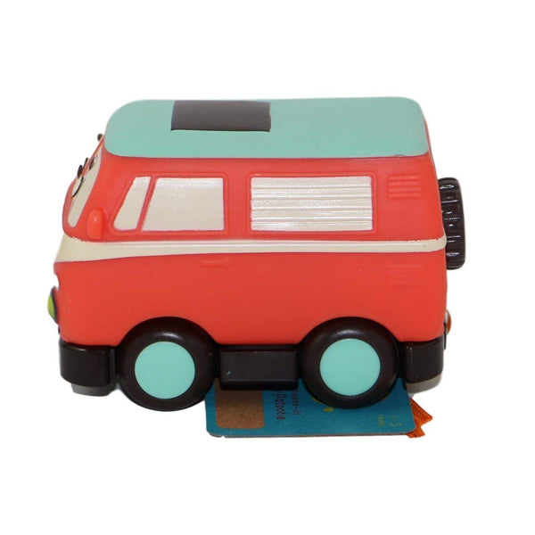 Battat Pull Back Car Mini Wheeee-ls! Groovy Patootie