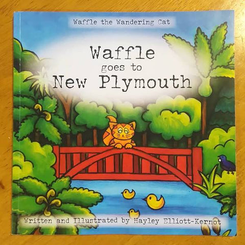 Waffle Goes To New Plymouth Book