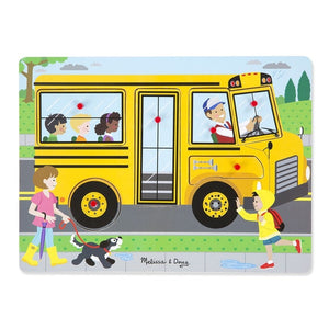 Melissa & Doug Sound Puzzle - The Wheels on the Bus