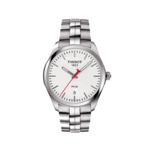 Tissot PR 100 NBA Special Edition 39MM Case Watch with White Dial in Stainless Steel -T1014101103101