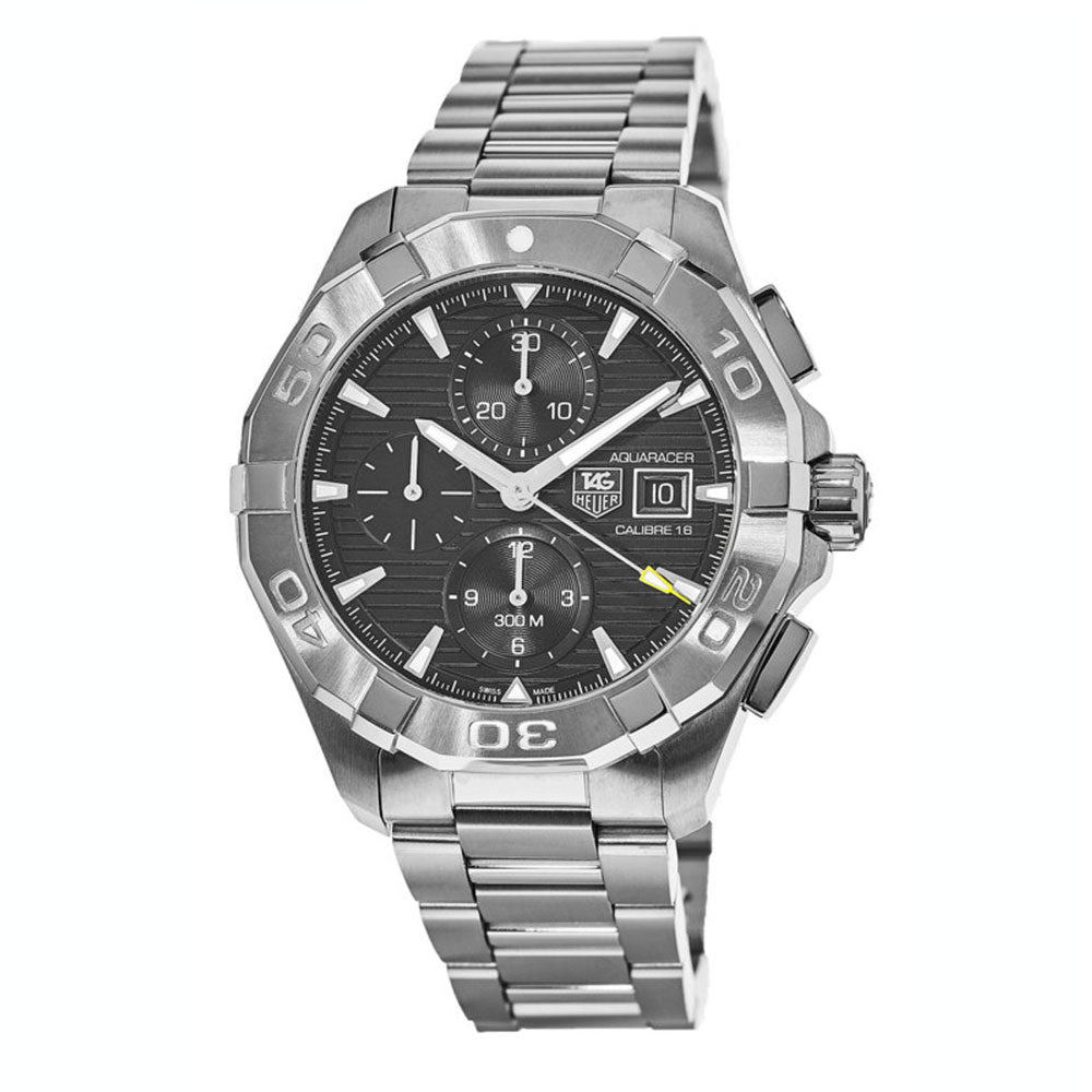 Tag Heuer Calibre Aquaracer 16 Auto Chronograph 43MM Case Watch  - CAY2110BA0925