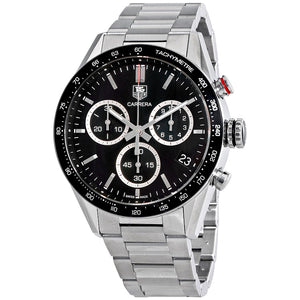 Tag Heuer Carrera Quartz 43MM Case Watch in Polished & Brushed Stainless Steel  - CV1A10BA0799