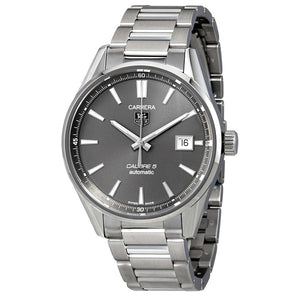 Tag Heuer Carrera Calibre 5 39MM Case Watch in Polished & Brushed Stainless Steel  - WAR211CBA0782
