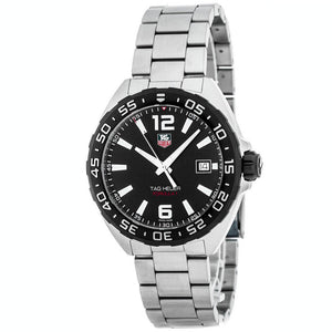 Tag Heuer Formula 1 Quartz  41MM Case Watch in Brushed Stainless Steel  - WAZ1110BA0875