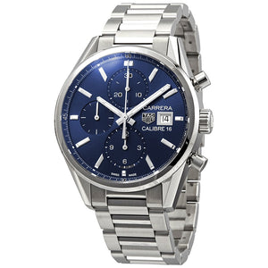 Tag Heuer Carrera Calibre 16 Auto Chronograph 41MM Case Watch in Brushed Stainless Steel  - CBK2112BA0715