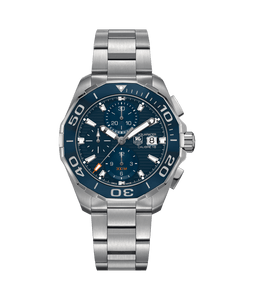 Tag Heuer Aquaracer Calibre 16 Automatic Chronograph 43MM Case Watch with Ceramic Bezel  -CAY211BBA0927