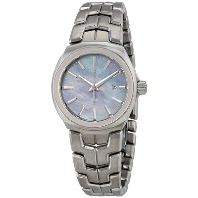 Tag Heuer Link Quartz 32MM Case Watch with Blue Mother of Pearl Dial - WBC1311BA0600