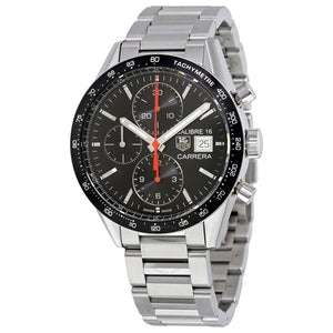 Tag Heuer Carrera Calibre 16 Auto Chronograph 41MM Case Watch in Brushed Stainless Steel  - CV201AKBA0727