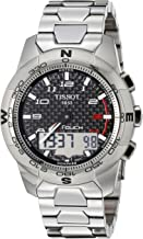 Tissot T-Touch II Titanium 43MM Case Watch with Black Dial -T0474204420700