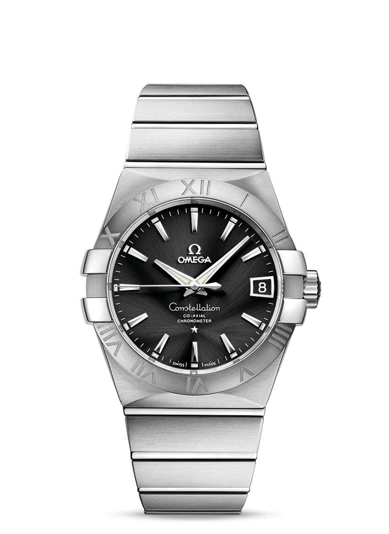 OMEGA Stainless Steel Constellation Co-Axial Watch 38mm