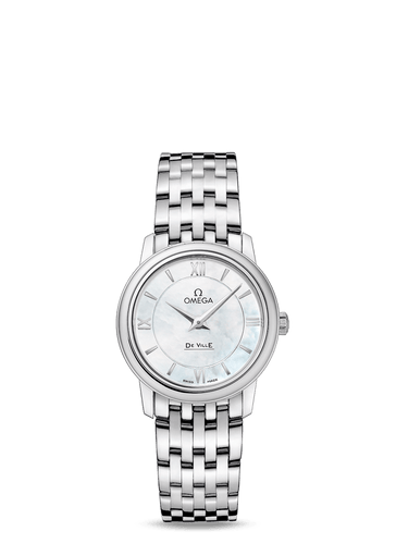 OMEGA Stainless Steel De Ville Prestige Quartz Ladies Watch 27.4mm