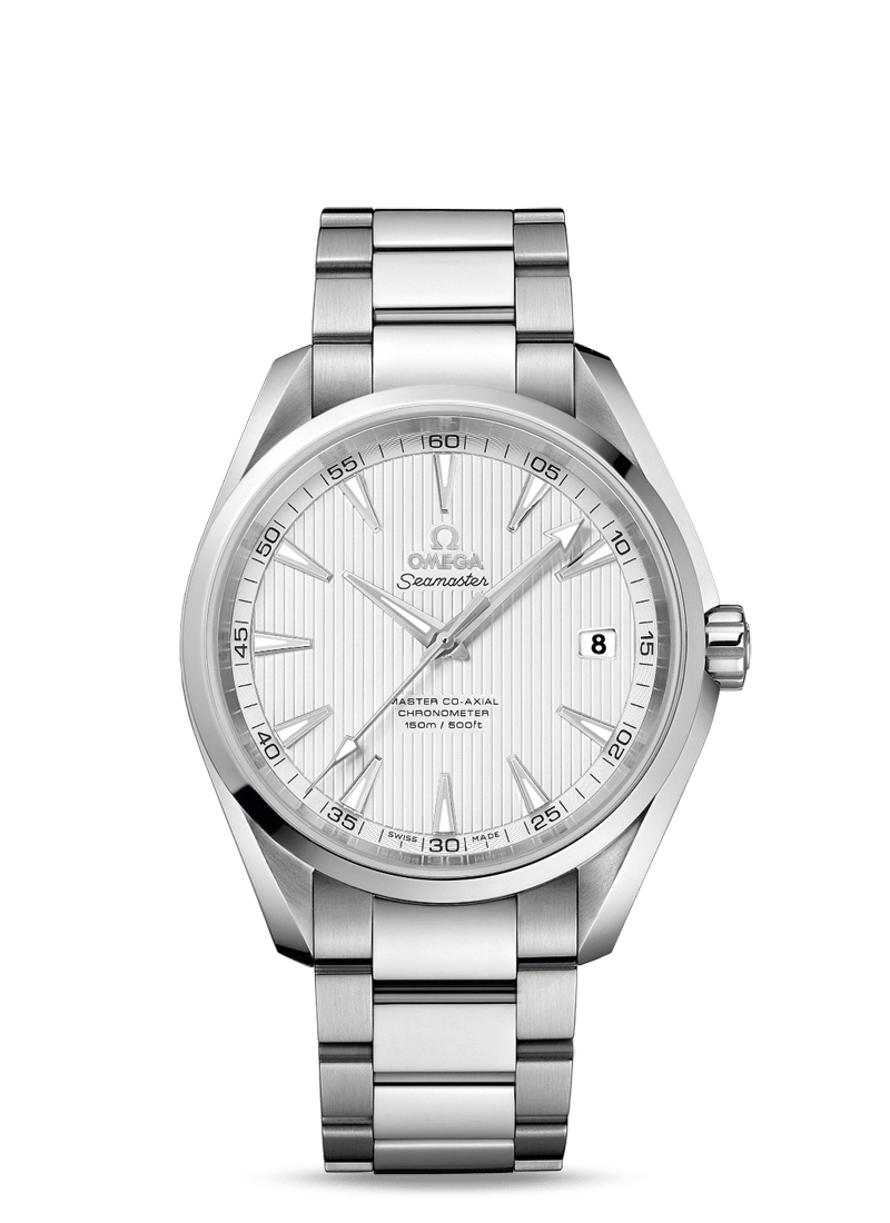 OMEGA Stainless Steel Mens Master Aqua Terra 150m Co- Axial 41.5mm