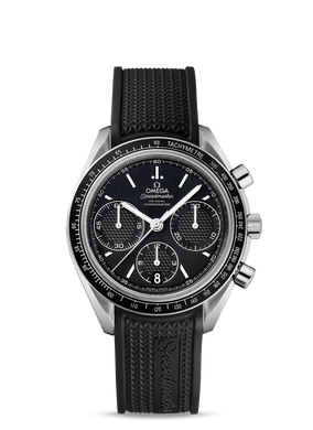 OMEGA Stainless Steel Speedmaster Mens Co-Axial 40mm Racing Watch