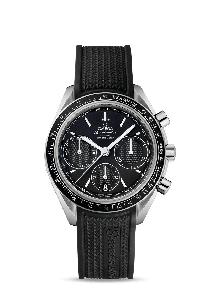 OMEGA Stainless Steel Speedmaster Mens Co-Axial Mens Racing Watch 40mm