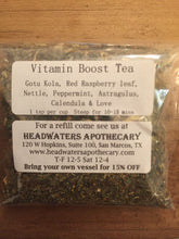 Load image into Gallery viewer, Vitamin Boost Tea 1oz