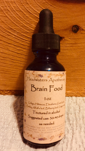 Brain Food Tincture