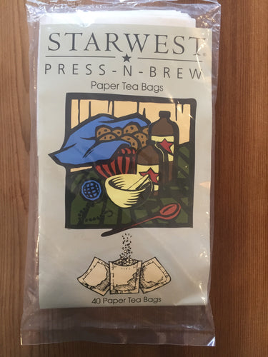 Press and brew tea bags