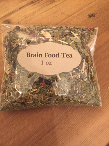 Brain Food Tea 1oz