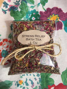 Stress Relief Bath Tea