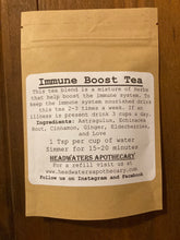 Load image into Gallery viewer, Immune Boost Tea 1oz