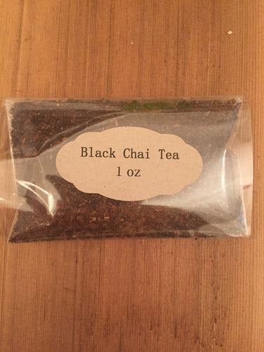 Black Chai Tea 1oz