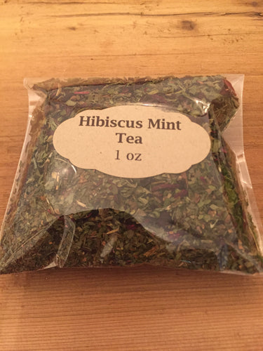 Hibiscus Mint Tea 1oz