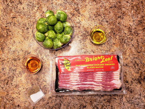Ingredients for Brussels Sprouts Recipe
