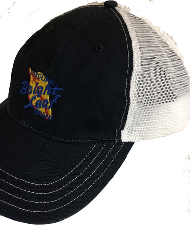 soft mesh navy blue hat