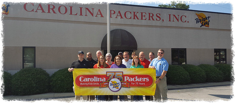 Carolina Packers 75 Anniversary