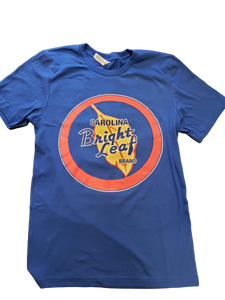 Captain Bright Leaf #ONLYBRIGHTLEAF Royal Blue T-Shirt