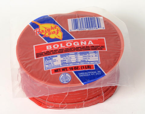 Bright Leaf Bologna (5 -1 lb Packages)
