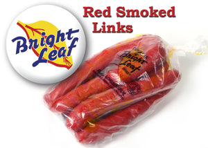 BRIGHT LEAF RED SMOKE SAUSAGE (3-2LB PACKAGES)