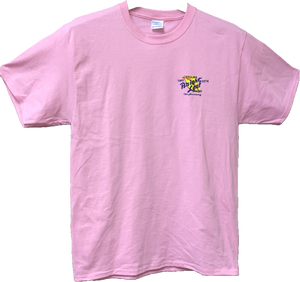 Bright Leaf 75th Anniversary Short Sleeve Pink T-Shirt