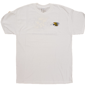 Bright Leaf Brand NC Down East Favorite White Short Sleeve T-Shirt