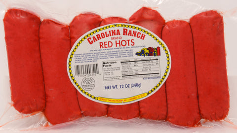 CAROLINA RANCH BRAND RED HOTS (6 lbs)