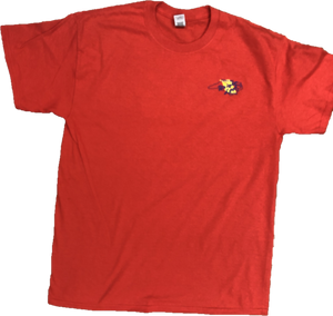 Bright Leaf Brand NC Down East Favorite RED Short Sleeve T-Shirt