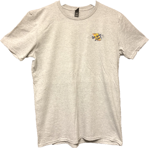 Bright Leaf Brand NC Down East Favorite Gray Short Sleeve T Shirt